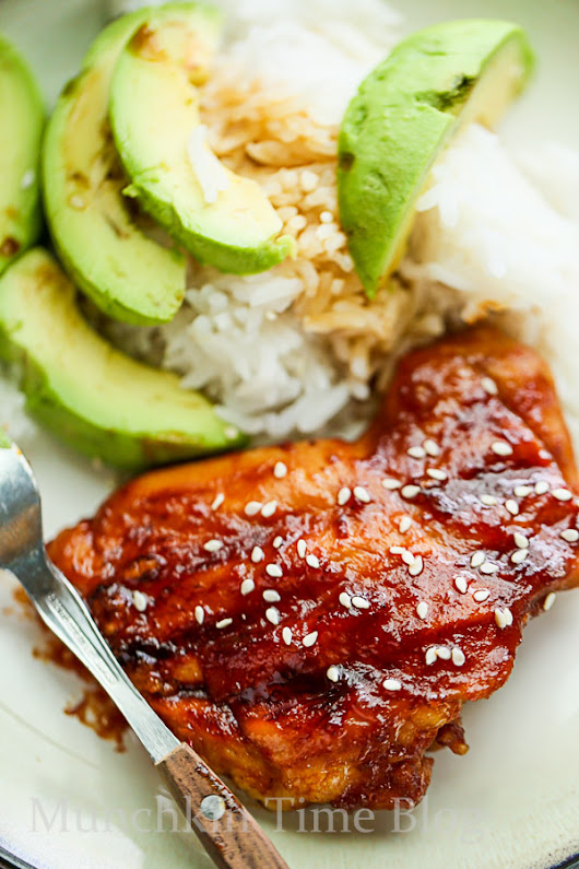 Best Hawaiian BBQ Chicken Recipe - Munchkin Time