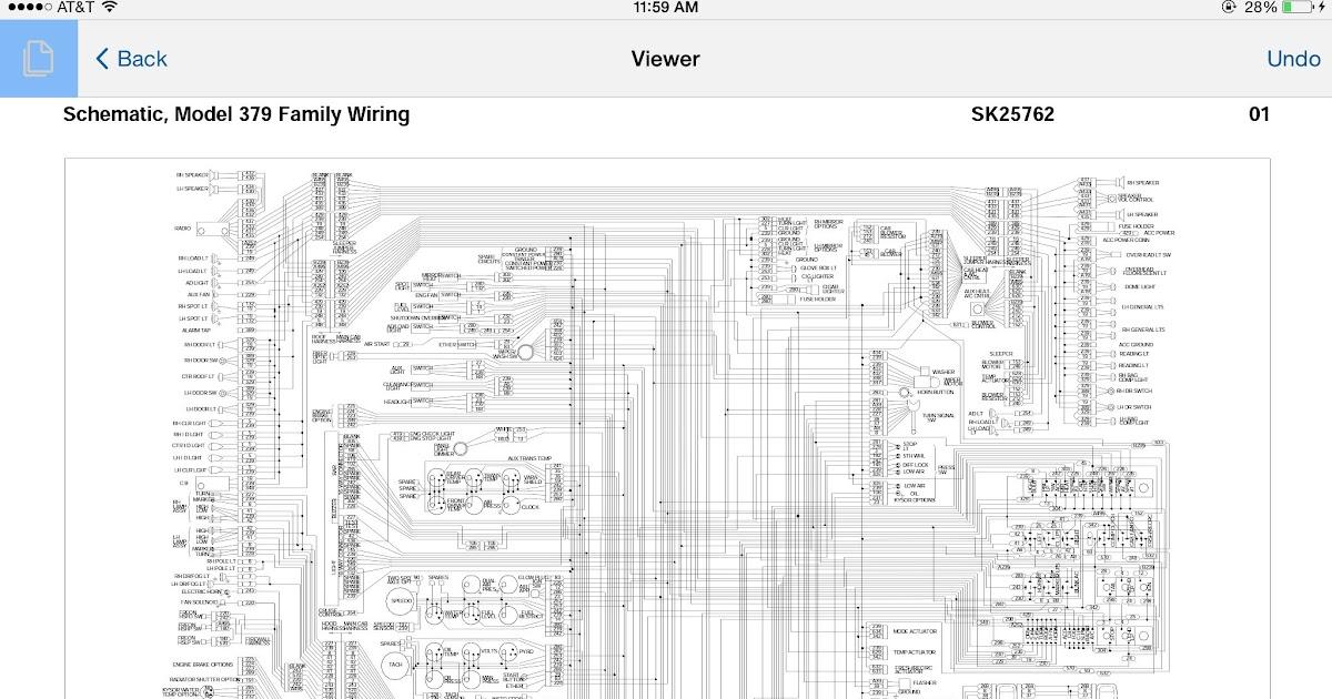 Supermiller 1999 379 Wire Schematic Jake Brake / Peterbilt