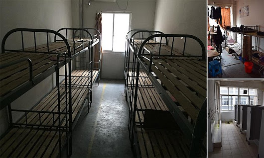 Dirty dormitories where Apple's iPhone workers lived 'like animals'