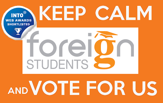 ForeignStudents.com Nominated for Award- Vote for Us!