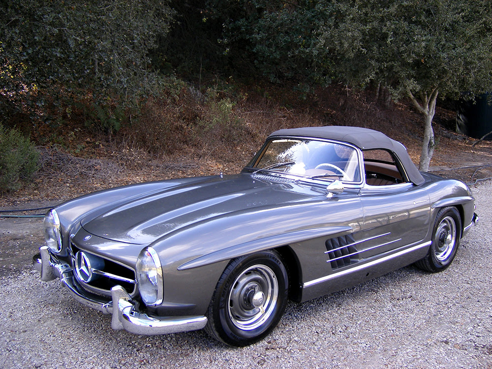 SOLD: 1957 Mercedes-Benz 300SL Roadster - Scott Grundfor ...