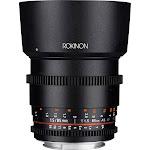 Rokinon Telephoto Lens for Sony E-Mount - 85mm - T/1.5
