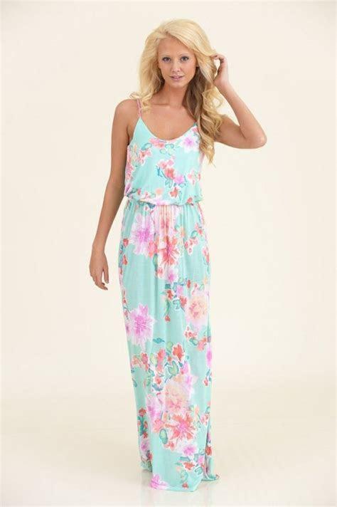 Floral maxi dress   [Fashion] Trends   Pinterest   Wedding