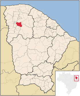 Localização de Cariré