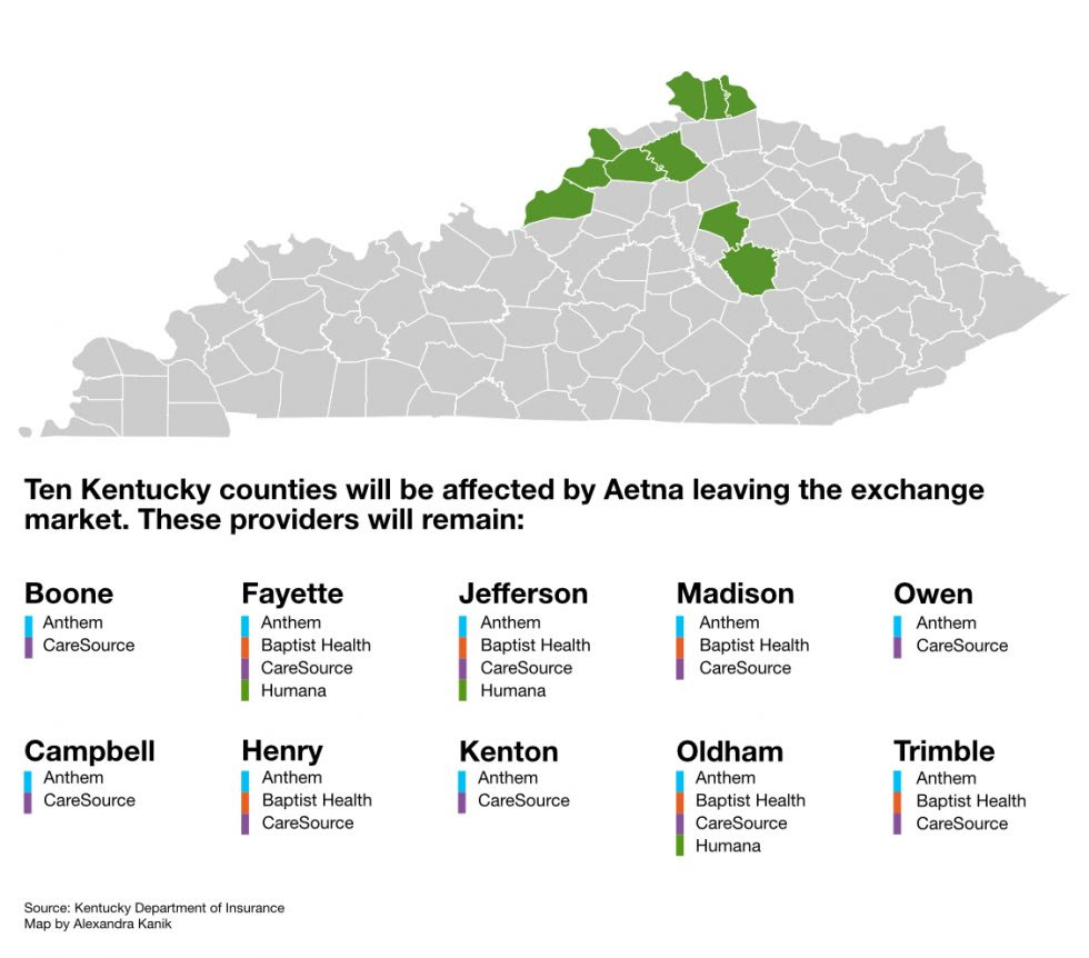 Aetna May Leave Kentucky Health Insurance Exchange