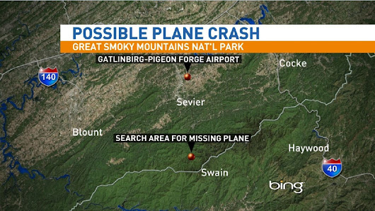 Possible plane crash in GSMNP