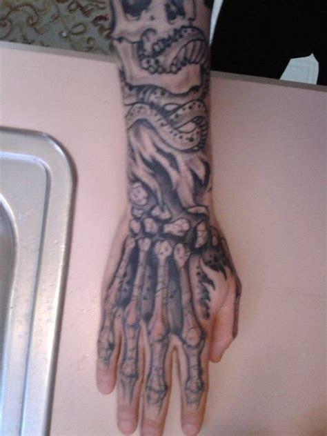 hand bone tattoo images pinterest bone