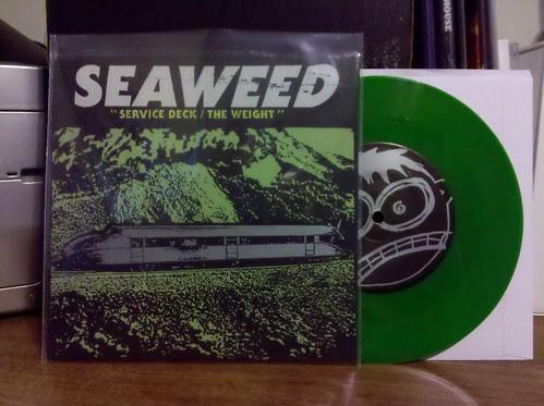 """Seaweed - Service Deck 7"""" - Green Vinyl"""