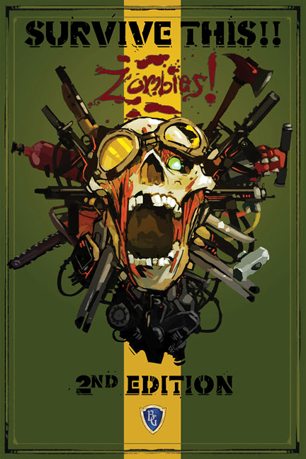 SURVIVE THIS!! Zombies! 2nd Edition KICKSTARTER PRE-ORDER Hardcover $39.99