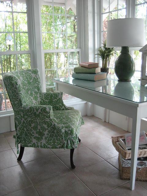 Cottage style desk area