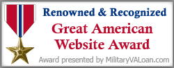 Military Website Award