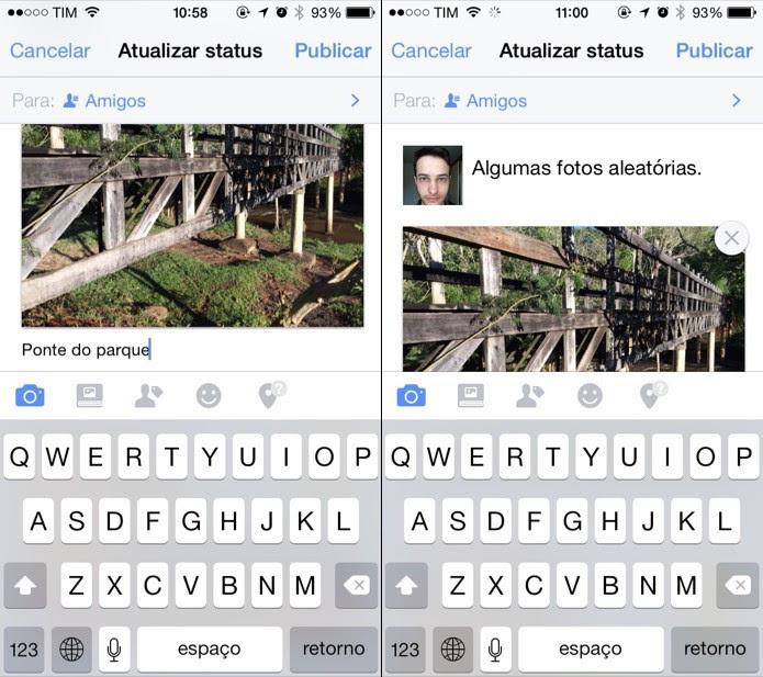 Facebook Mude A Ordem Das Fotos Antes De Publicar E Veja Funções No