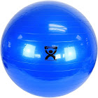 """Cando Inflatable Exercise Ball Blue 34"""" 85 cm"""