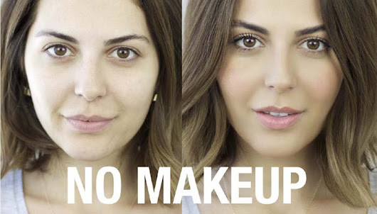 How to Do No Makeup Makeup - Beauty Tips YouTube Video