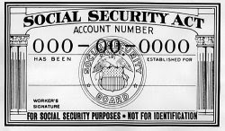 Social Security Numbers are issued by the UN through the IMF