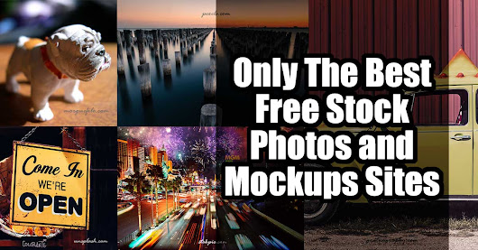 Only The Best Free Stock Photos and Mockups Sites - Marketing Artfully
