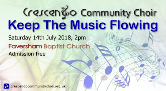 Keep The Music Flowing | Faversham Baptist Church