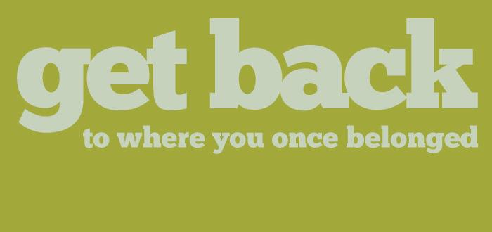 beatles, jojo, typography, graphics, get back, john paul george ringo