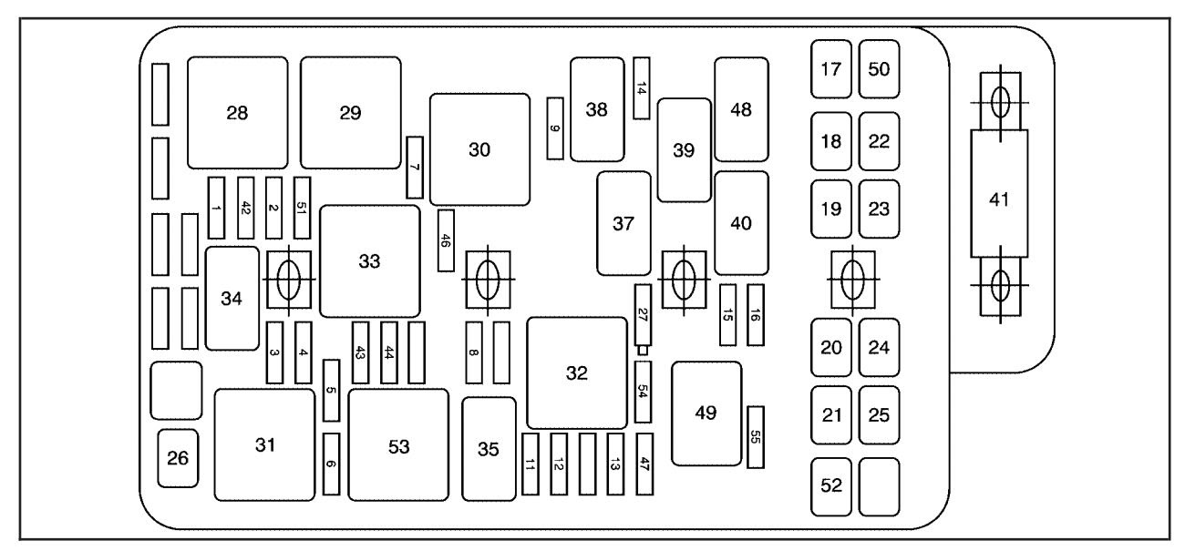 2008 Ford F250 Interior Fuse Box Diagram