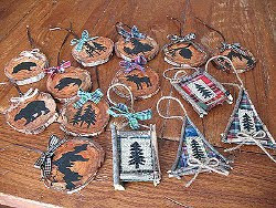Rustic North Woods Ornaments  AllFreeChristmasCrafts.com