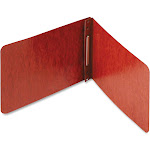 """Acco Pressboard Report Cover, Prong Clip, 5-1/2 x 8-1/2, 2"""" Capacity, Red"""