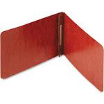 ACCO - Flat bar file - 5.5 in x 8.5 in - red