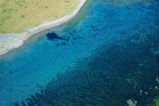 Κρυστάλλινη λίμνη στη Νέα Ζηλανδία (5)