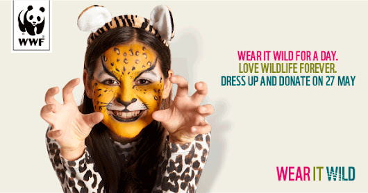 Wear it Wild for a day. Love wildlife forever