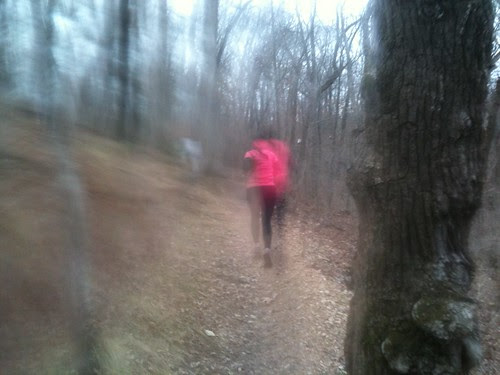 Castlewood Cup--look how fast I was going