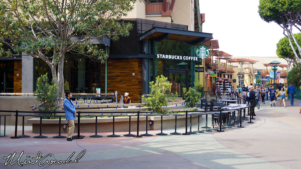 Disneyland Resort, Downtown Disney, Starbucks