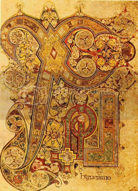 Book of Kells Pictures, Images and Photos