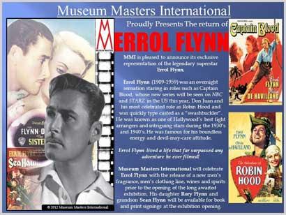 MMI presents Errol Flynn