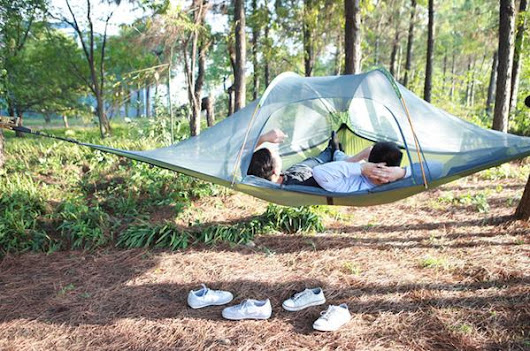 Levitation 2 Person AeroTent Review | The Hammock Expert