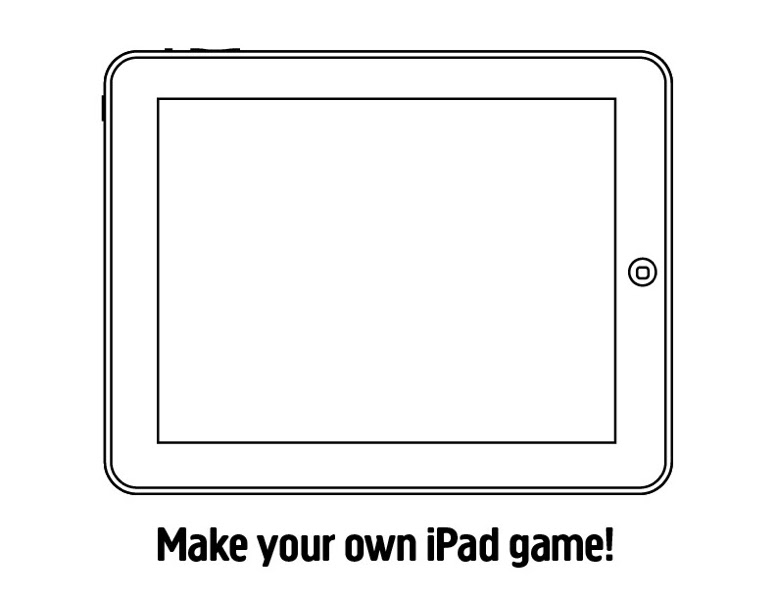 ipad colouring pages - Clip Art Library