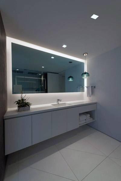 Top 50 Best Bathroom Mirror Ideas - Reflective Interior ...