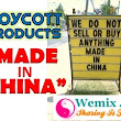 Stop Using Made In China Products