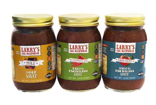 New look, new product for All Natural Taco, Enchilada & Mole Sauces
