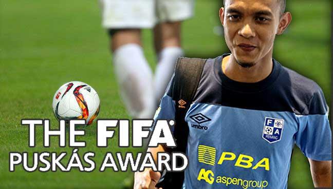 FAIZ SUBRI MENANG FIFA PUSKAS AWARD 2016