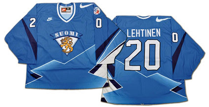 Finland 1996 WCOH jersey