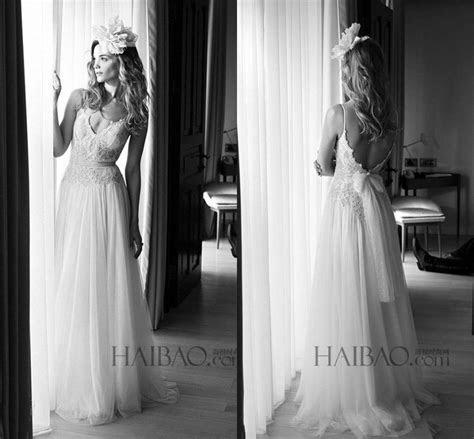 Lihi Hod 2015 Boho Wedding Dresses Sexy Spaghetti Straps