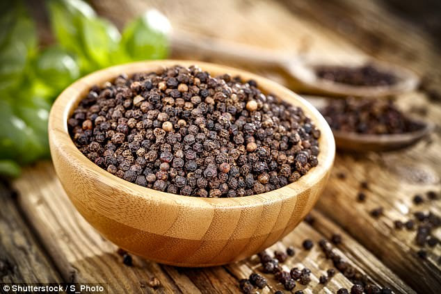 Black pepper could help in the fight against obesity, new research suggests (stock image)
