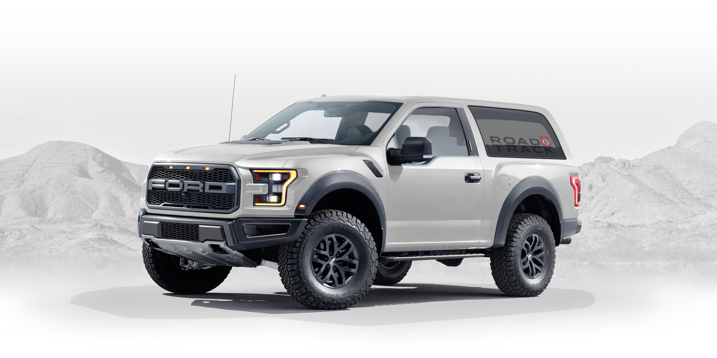 2020 Ford Bronco Designed By Fan - Graphic Artist Creates Ford Raptor ...