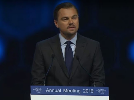 Watch: Leo has some harsh words for corporate greed