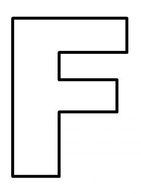 letter f coloring pages, Preschool Crafts