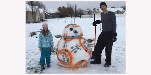This is the Snow Droid you're looking for - The Poke
