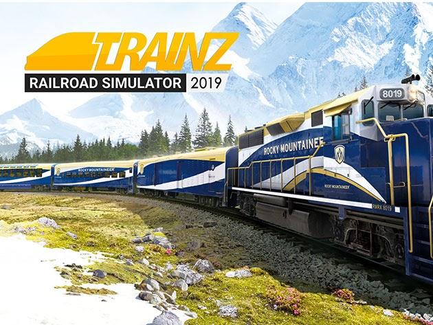 The Trainz Railroad Simulator Platinum Edition Bundle for $29
