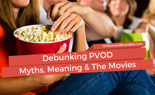 PVOD: How To Watch Movies From Home While Still In Theater