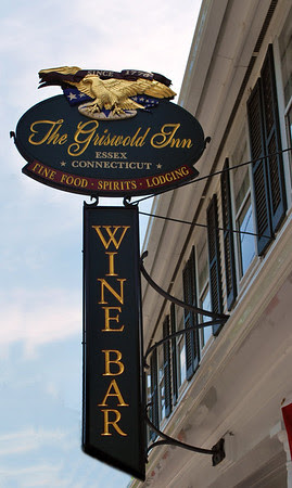 Wine Bar sign at