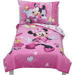 Mickey Mouse & Friends Minnie Mouse Toddler 4pc Bedding Sets