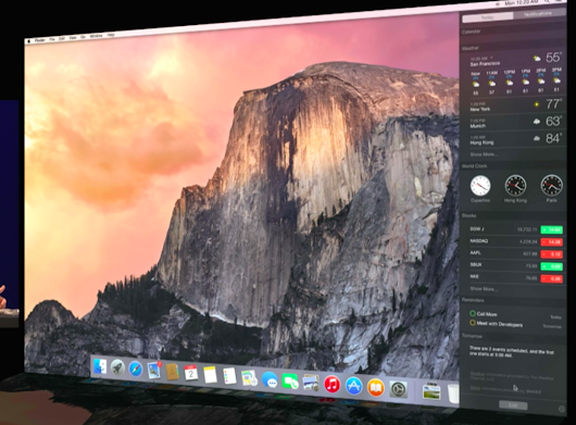 Apple Reveals OS X 10.10 Yosemite